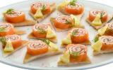 Roulades de saumon maison