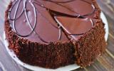 Gâteaux au chocolat et crème de banane
