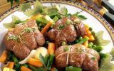 Paupiettes de veau aux carottes