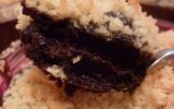Crumble noix de coco et fondant chocolat