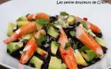 Salade chic au surimi