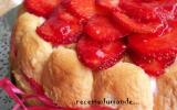 Charlotte aux fraises économique