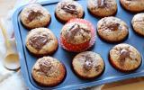 Muffins au coeur coulant de Nutella