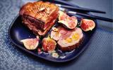 Rôti de magret de canard figues-abricots