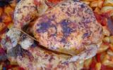 Poulet rôti aux herbes de Provence