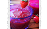 Compote fraises romarin