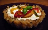 Tartelettes de riz aux poivrons grillés