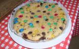 Gâteau au yaourt et M&M's