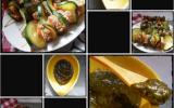 Mini brochettes de bœuf et coulis de poivrons épinards faciles