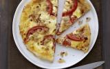 Quiche tomate, thon et fromage Carré Frais