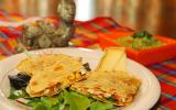 Quesadillas au poulet, maïs et Tomme de Savoie IGP