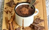 Chocolat chaud (70%) à l'ancienne fait maison