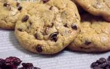 Cookies au chocolat et Cranberries