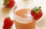 Smoothie fraises et mangue