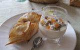 Crème de riz à la fleur d'oranger