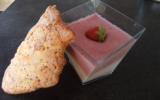 Duo de mousse fraise framboise