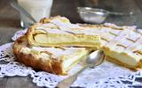 Crostata di ricotta ou tarte à la ricotta