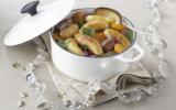 Cocotte sucrée-salée de Ratte du Touquet