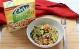 Risotto printanier au Quinoa et Lentilles