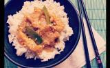 Poulet thai au beurre de cacahuètes