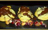 Choux à la crème de nougat et son chocolat chaud