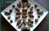 Tits cubes de courgette fondants et épicés aux éclats de cacahuète