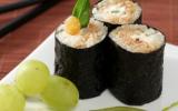 Maki au fromage frais et tomates séchées