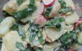 Salade de pommes de terre à l'ail des ours