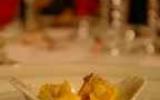 Cassolette de langouste flambée au cognac
