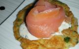Blinis au saumon fumé pour l'apéritif