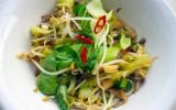 Salade de légumes chinois