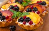 Florilège de desserts ou de snacks aux amandes ?