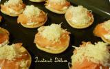 Blinis saumon gruyère