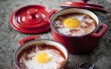 Oeufs cocotte Tomacouli et jambon