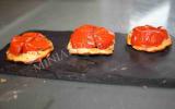 Mini tatin de tomates cerises