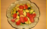 Poêlée de courgettes et tomates à l'ail