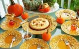 Tarte à la crème de citrouille sur croûte speculoos-pacanes ou verrines crème à la citrouile et crumble speculoos-pacanes