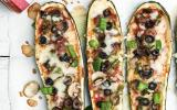 Pizza de courgettes