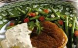 Tournedos au poivre vert