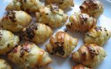 Mini-croissants au Boursin