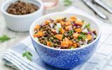 10 recettes de salade de lentilles pour des déjeuners équilibrés et complets