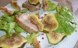Salade de canard aux figues