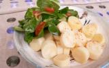 Coeur de palmier en salade, vinaigrette légère au citron