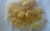 Poulet au curry express