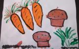 Muffins aux carottes et à la ciboulette