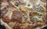 Pizza au Brie et tomates séchées