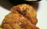 Cuisses de poulet braisées au miel