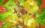 Feuilletés de tomate et chèvre