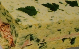Terrine de saumon - courgettes