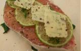 Papillotes saumon sauvage, épinards, citron vert et beurre aux algues
